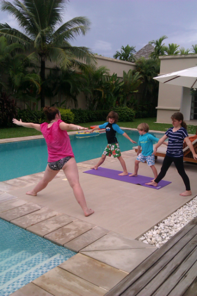 Iyengar yoga is suitable for children