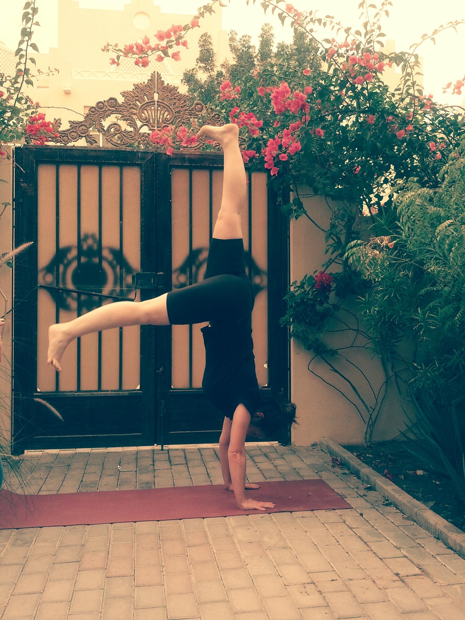 Adho Muhka Vrksasana - Arm balance
