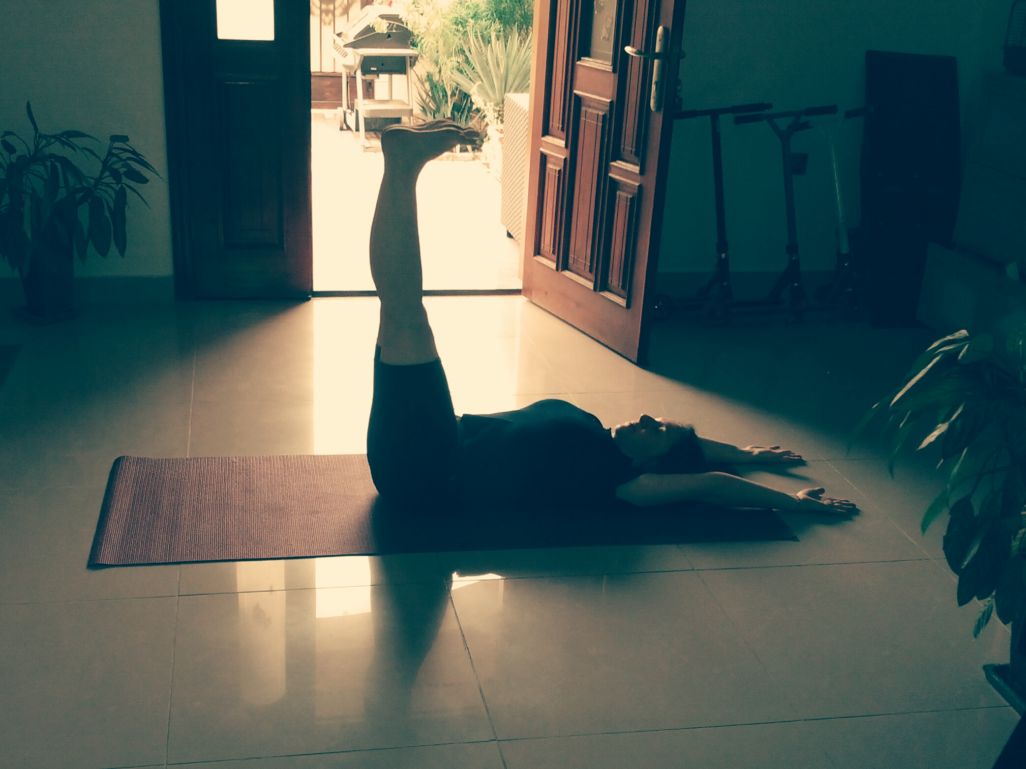Urdhva prasarita padasana - the 90 degree pose.