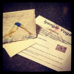 Iyengar yoga gift vouchers for www.yoga-in-manchester.co.uk