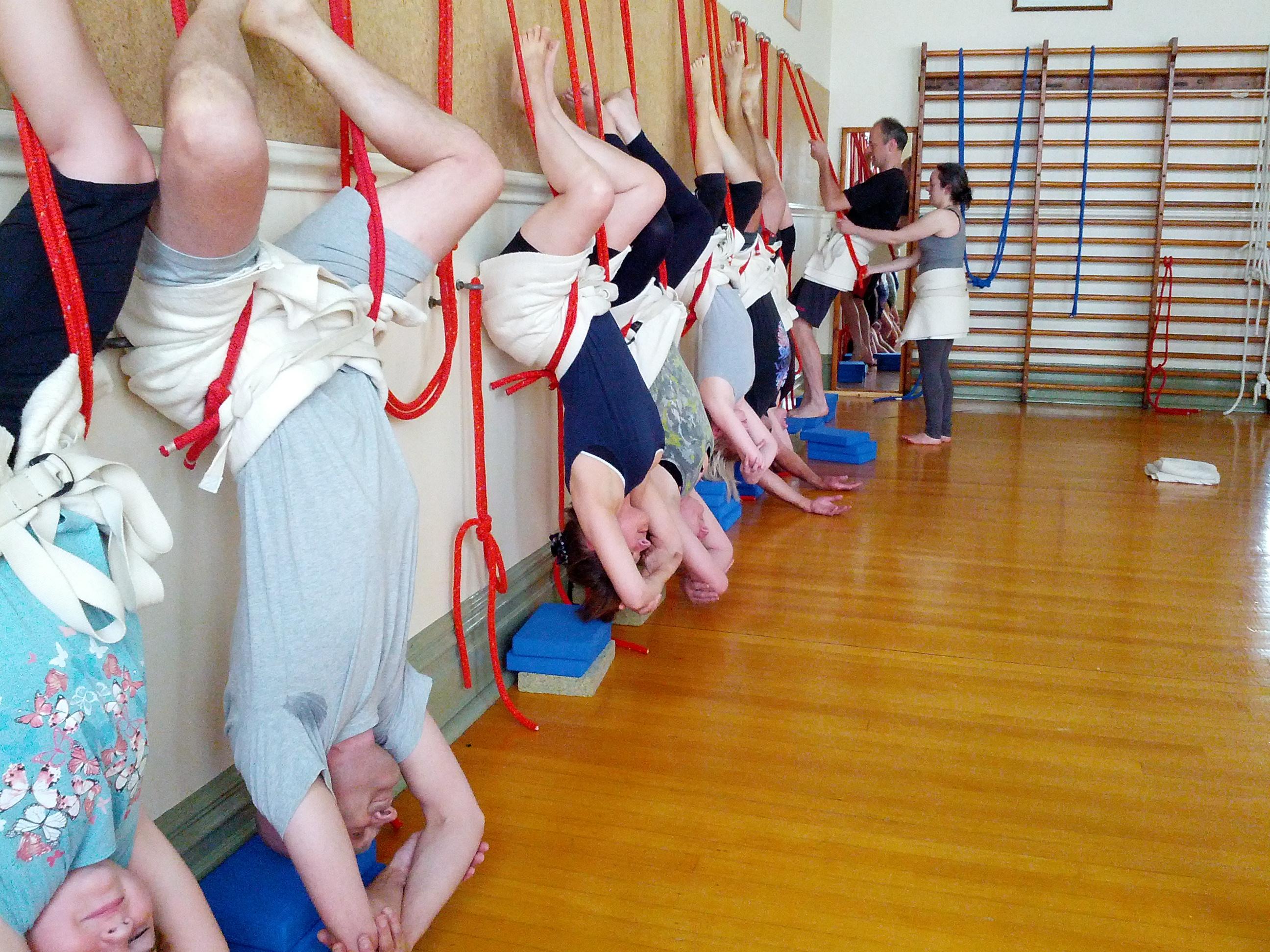 Yoga rope benefits